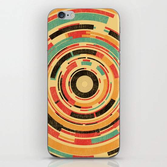 Space Odyssey iPhone & iPod Skin