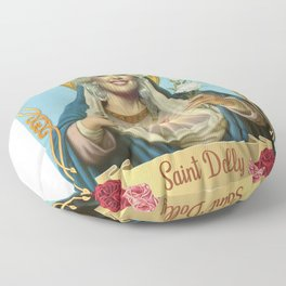 Saint Dolly Parton Floor Pillow