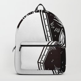 coffin eye special design Backpack