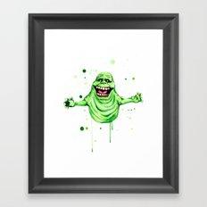 Slimer  Framed Art Print