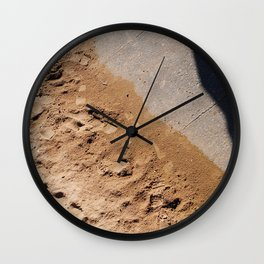 The Sand Wall Clock