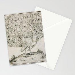 024 gefleckte pfau (Ger)2 Stationery Cards