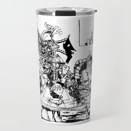 Pablo Picasso, Jeux de pages (Pages Games), 1951, Artwork Reproduction, Design for Men, Women, Kids Travel Mug