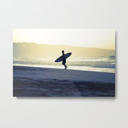 North Shore Dusk - Hawaii Seascapes #4 Metal Print