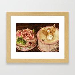 Angel Rose Framed Art Print