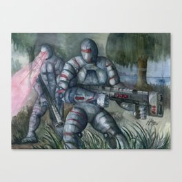 Swamp Hunt Canvas Print