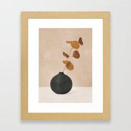 Eucaliptus Decoration I Framed Art Print