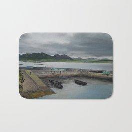 Roundstone Harbour, Connemara, Gallway, Ireland Bath Mat