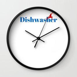 Top Dishwasher Wall Clock