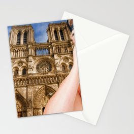 An American In Paris Notre Dame Stationery Cards