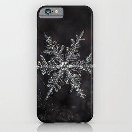 January Snowflake #6 iPhone Case