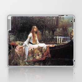 The lady of shalott painting  Laptop & iPad Skin