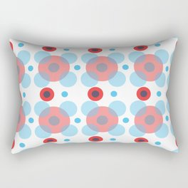Dots Bubbles  Rectangular Pillow