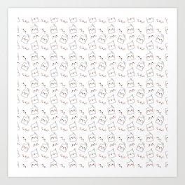 More Cockatiels Art Print
