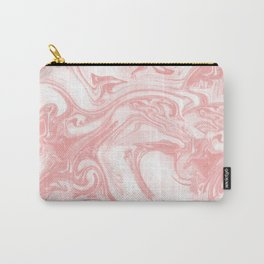 Adrift - Abstract Suminagashi Marble Series - 11 Carry-All Pouch