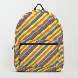 Summer Lights Inclined Stripe Backpack