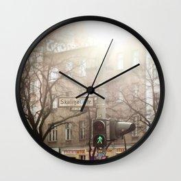 Memory of Berlin. Wall Clock