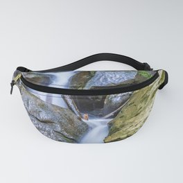 Waterfall Over Rocks Fanny Pack