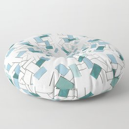 At The Bottom Of The Ocean Floor Pillow
