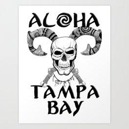 Aloha Tampa Bay Art Print