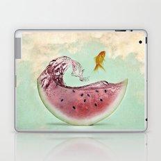 watermelon goldfish 02 Laptop & iPad Skin