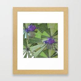 Australica Fan Palm Framed Art Print