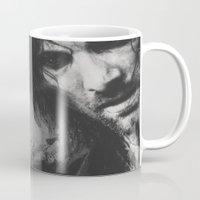 aragorn Mugs featuring Aragorn by Alba Palacio