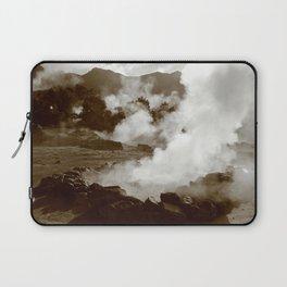 Sleeping volcano Laptop Sleeve