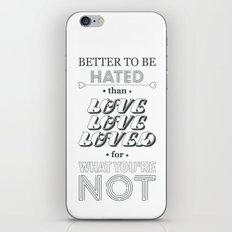 I Am Not A Robot ; Marina and the Diamonds (alternative II) iPhone & iPod Skin