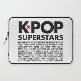 KPOP Superstars Original Boy Groups Merchandse Laptop Sleeve