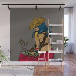 Pinay Wall Mural