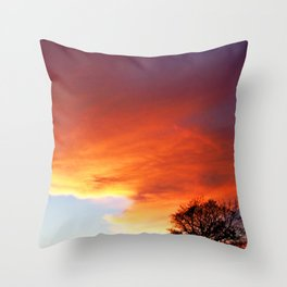 SSF Sunset 8 Throw Pillow