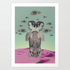 new anatomy 01 -  Art Print