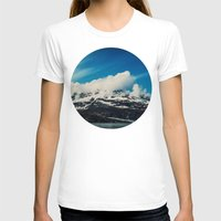 alaska T-shirts featuring Alaska Mountain by Leah Flores