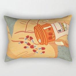 RX for Life Rectangular Pillow
