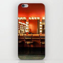 Backstage iPhone Skin