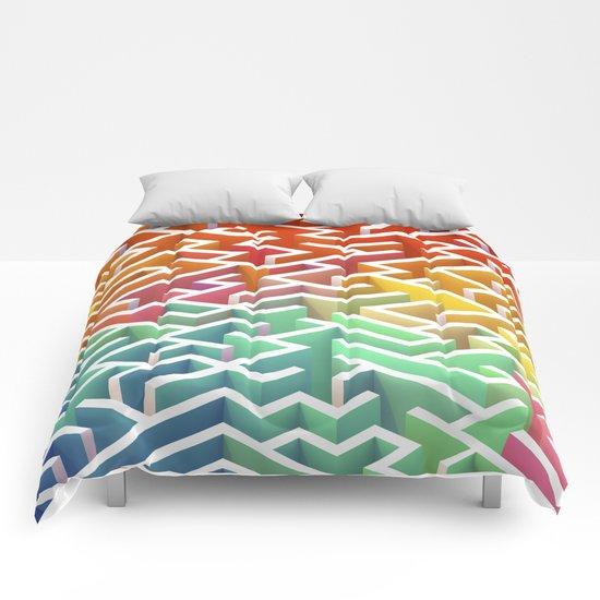 Labyrinth III Comforters