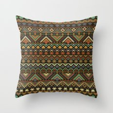 indians versus aliens (variant) Throw Pillow