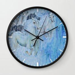 Spirit Horses Wall Clock