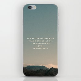 Stubborn Love iPhone Skin