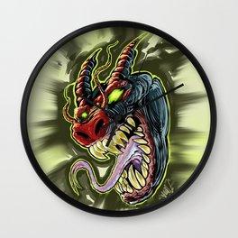 MONSTER demon Wall Clock