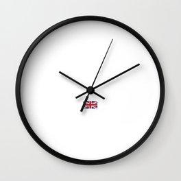 United Kingdom London City Vacation Gift Idea Wall Clock