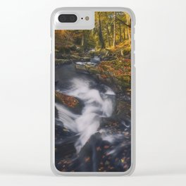 The Golden Carpets Clear iPhone Case
