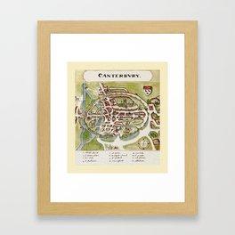 Canterbury 1588 Framed Art Print