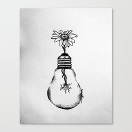 Flowering Ideas Canvas Print