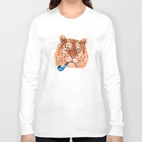 TIGER CRY I Long Sleeve T-shirt