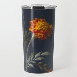 Vintage Marigolds Travel Mug