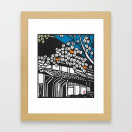 Kaki Framed Art Print