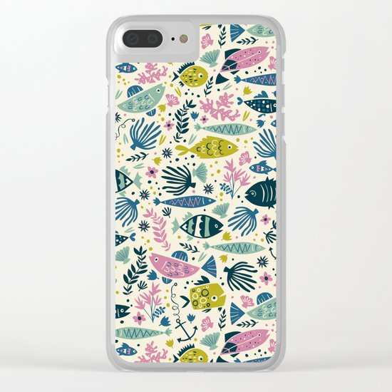 Little Fish Clear iPhone Case