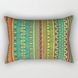 Inspired Aztec Pattern 3 Rectangular Pillow